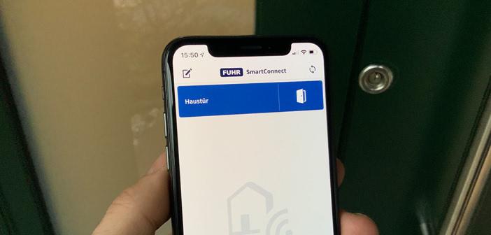 haust r mit dem smartphone ffnen fuhr smartconnect easy im test housecontrollers. Black Bedroom Furniture Sets. Home Design Ideas