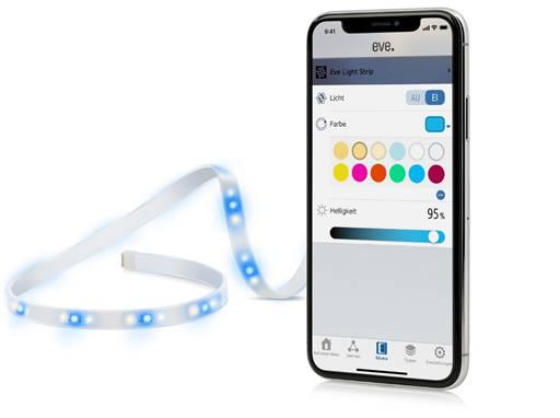 eve light strip neuer led streifen f r apple homekit ab sofort erh ltlich housecontrollers. Black Bedroom Furniture Sets. Home Design Ideas