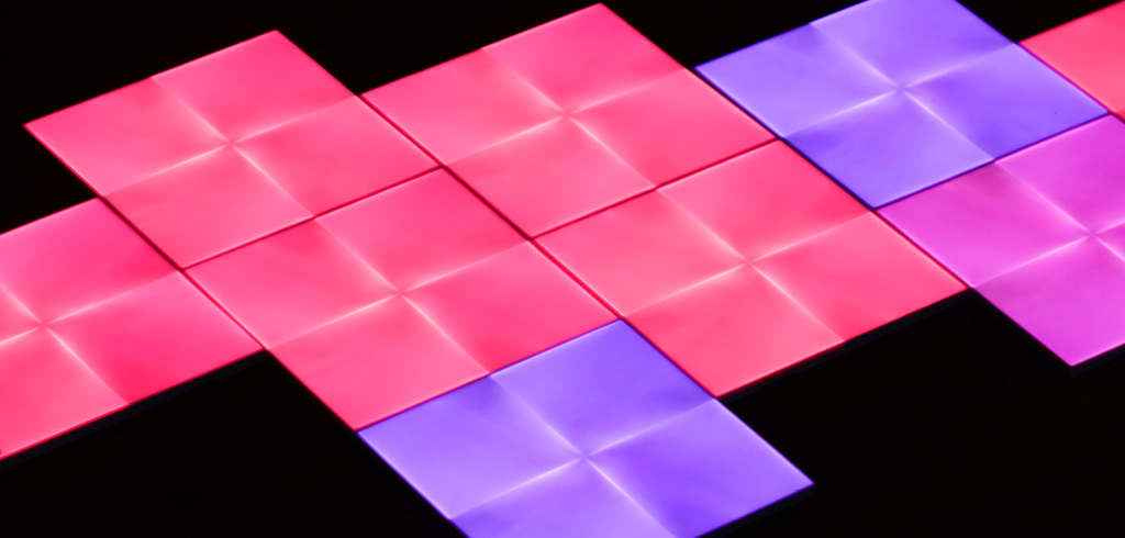 nanoleaf canvas im test farbenfrohe led panels fuer das