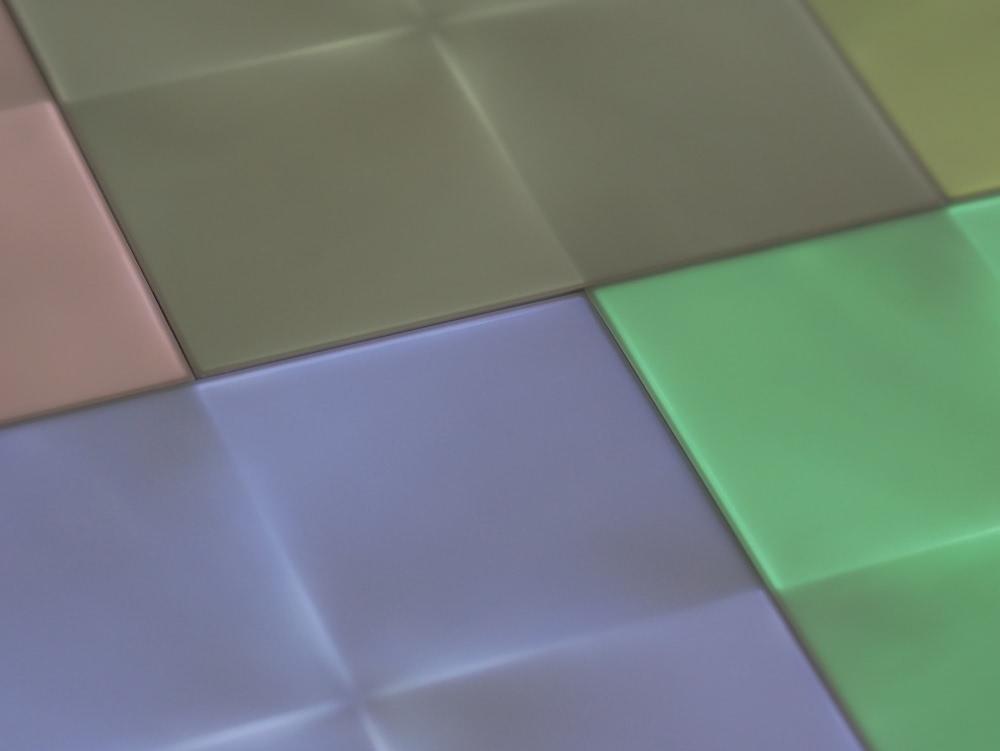 Farbige LED-Panels