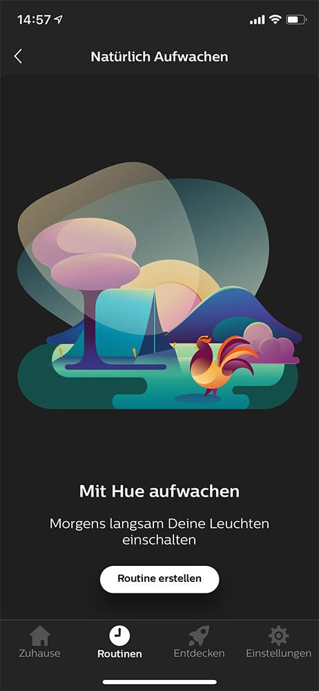 Philips Hue Tipps: Weckfunktion