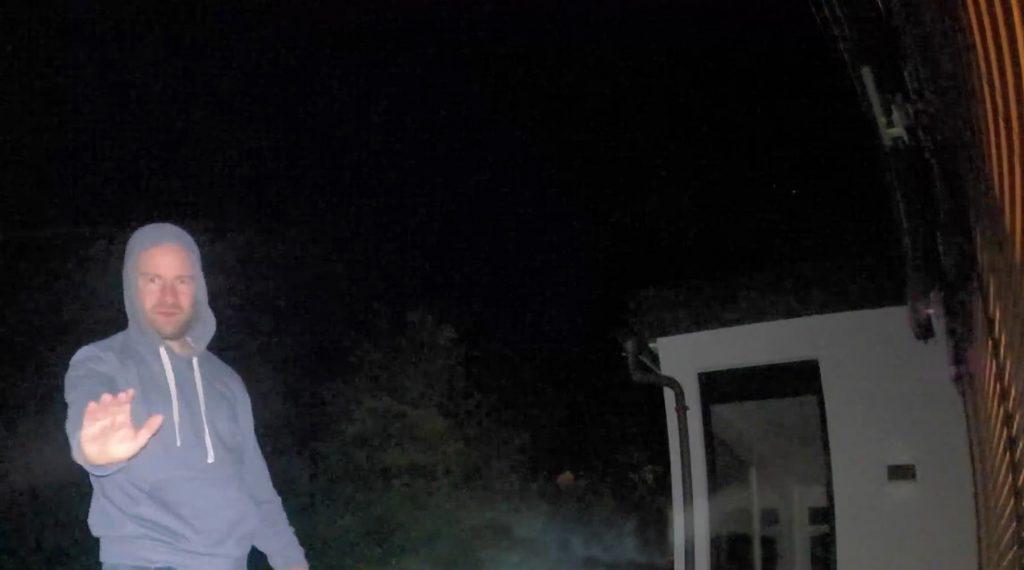 Arlo Ultra Testbild bei Nacht.