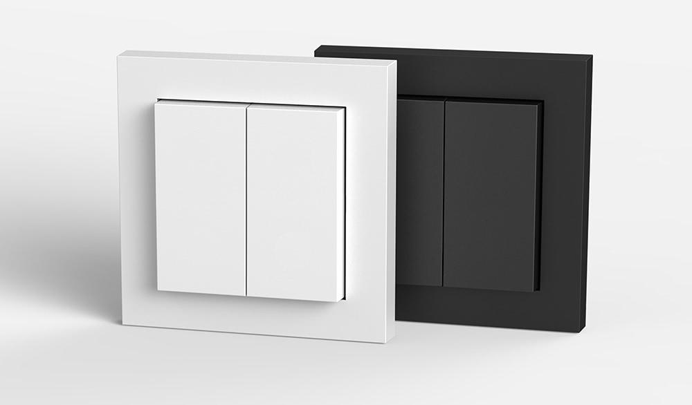 Philips Hue Lichtschalter für die Gira E2-Serie.