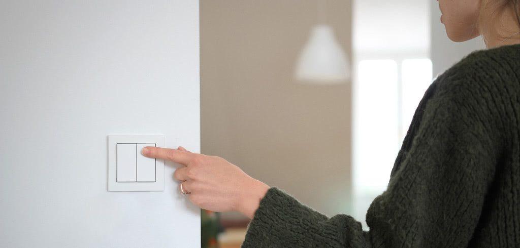 Philips Hue Lichtschalter für Gira