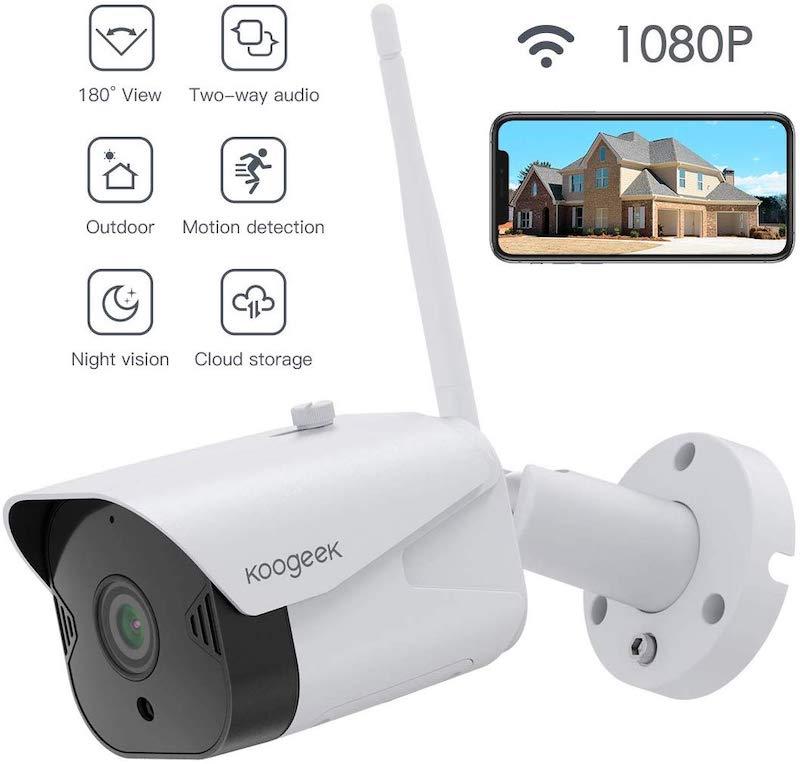 Koogeek Outdoor Überwachungskamera
