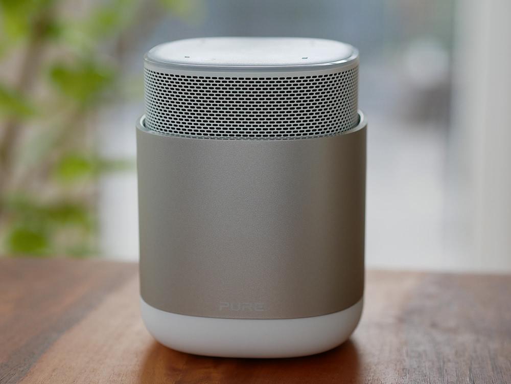 Alexa-Lautsprecher mit Akku