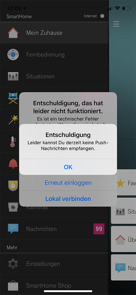 Magenta SmartHome Screenshot