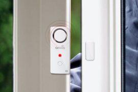 Tür- und Fenstersensor mit Sirene für HomeKit