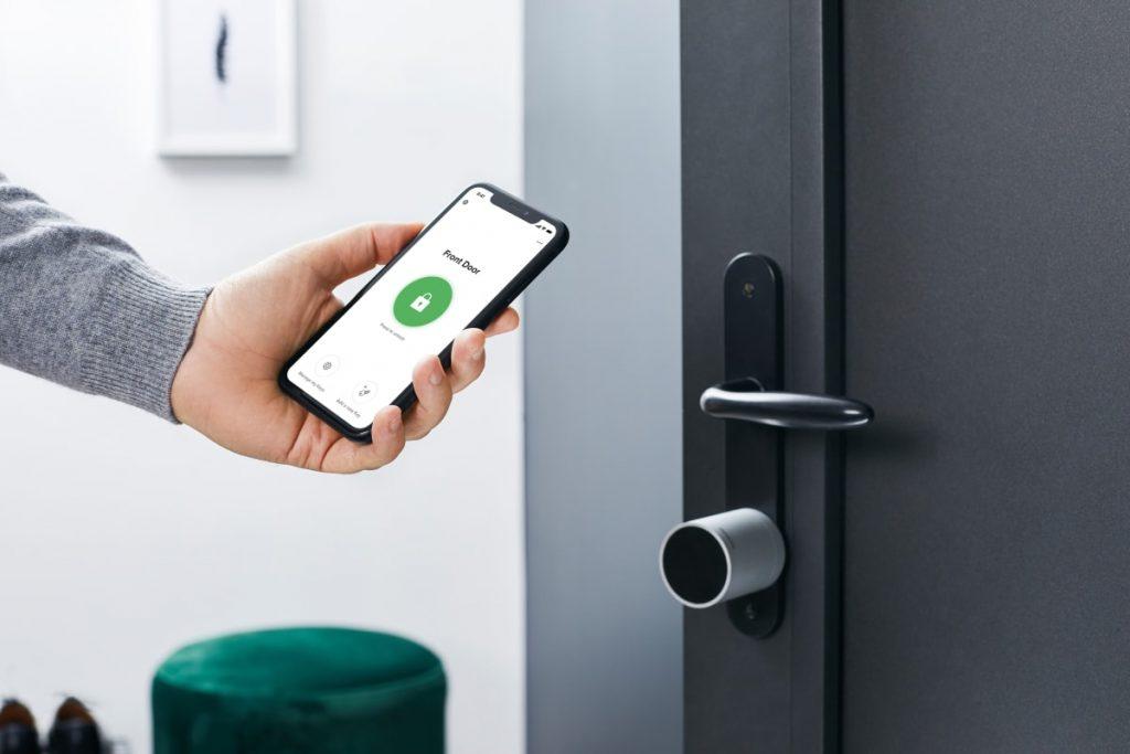 Smartes Türschloss mit NFC-Funktion