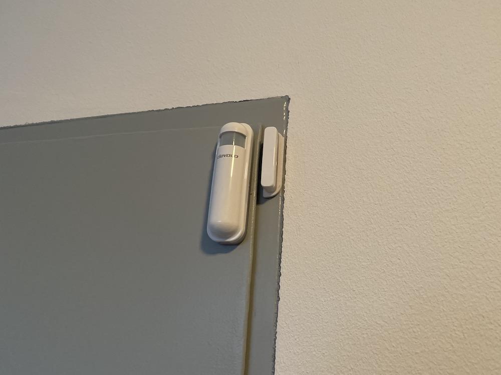 Zwave Tür- Fensterkontakt von Devolo