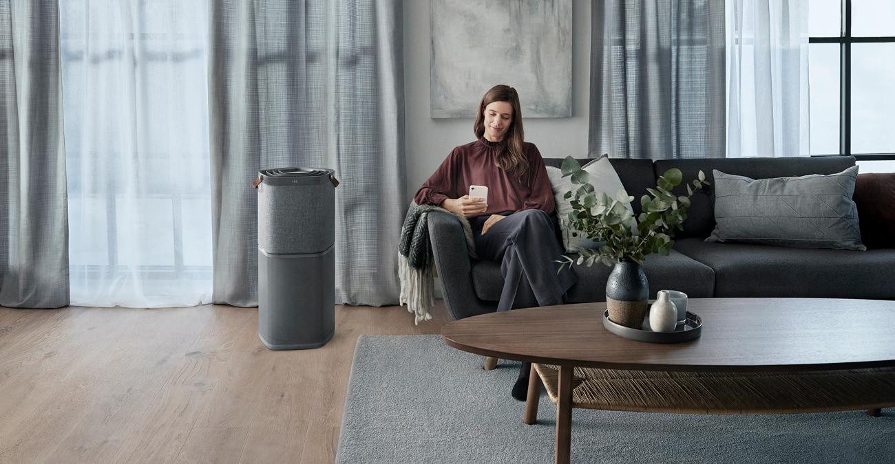Smart Home Luftreiniger von AEG