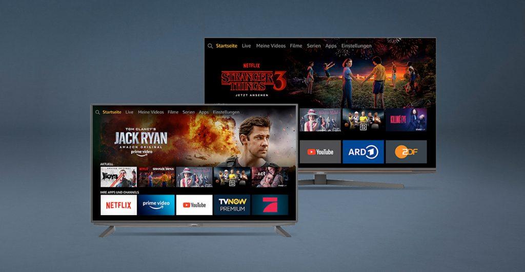 Fernseher mit Alexa von Grundig