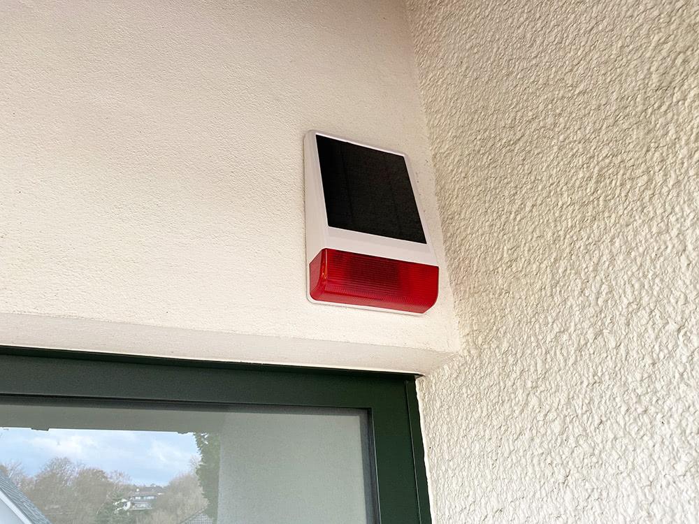 Z-Wave Außensirene für Homee