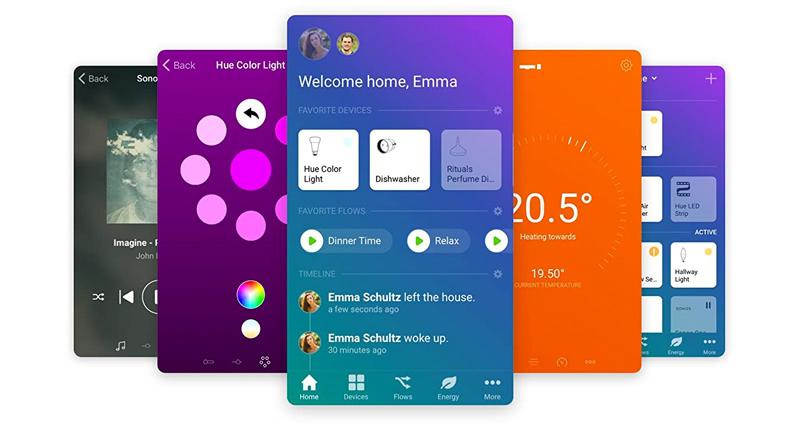 Homey App Screenshots