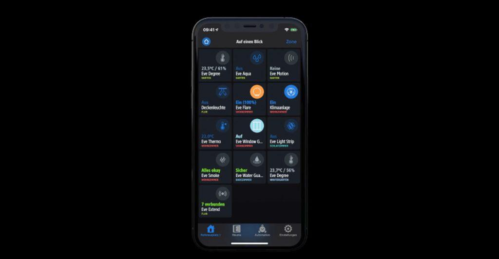 HomeKit-App Eve