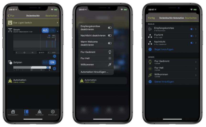HomeKit-App Screenshots