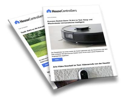 Smart Home Newsletter (Screenshot)