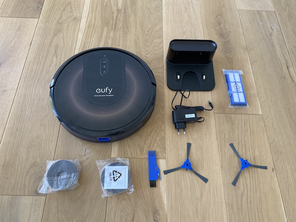 Eufy RoboVac G30 Edge Lieferumfang