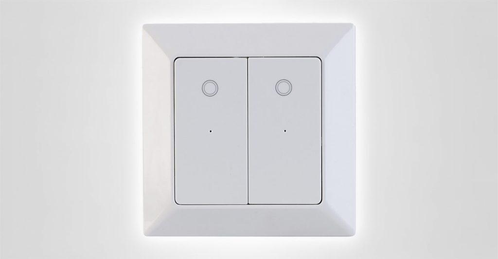 Doppel-Lichtschalter für Amazon Alexa