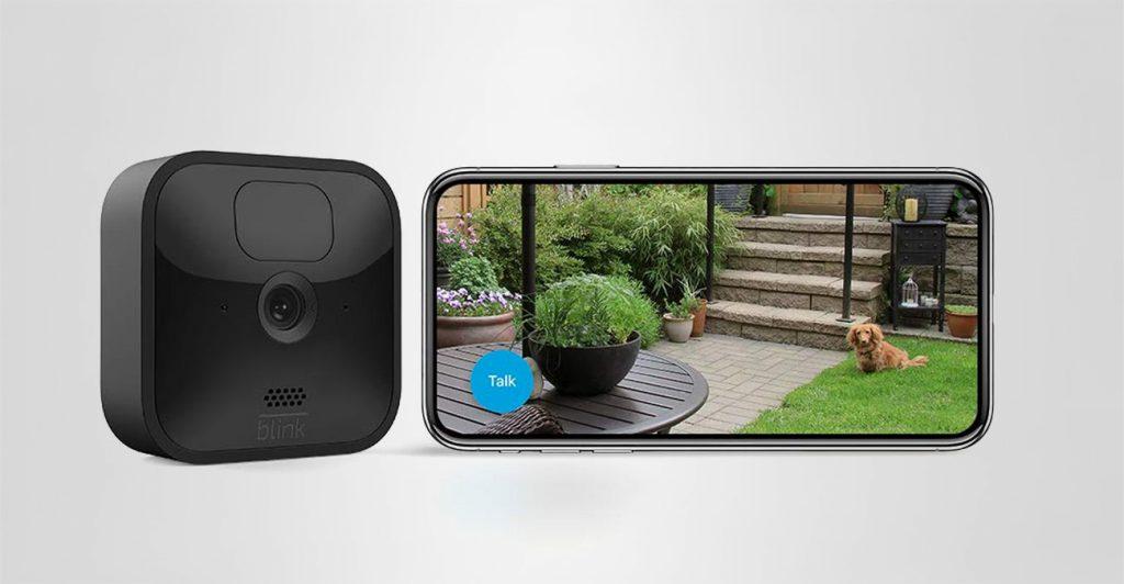 Kleine Überwachungskamera von Blink