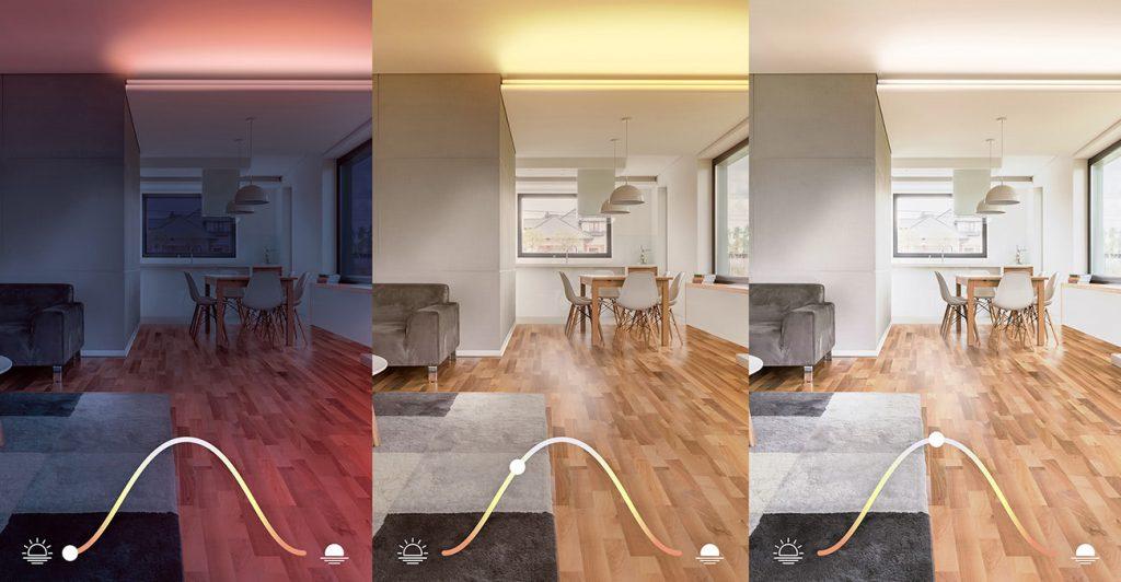 HomeKit adaptives Licht