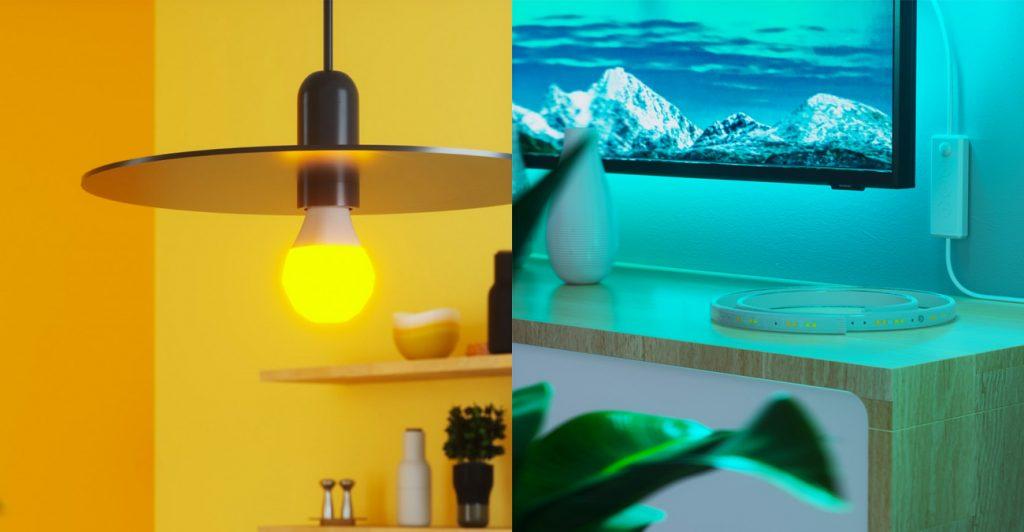 Smarte Beleuchtung von Nanoleaf