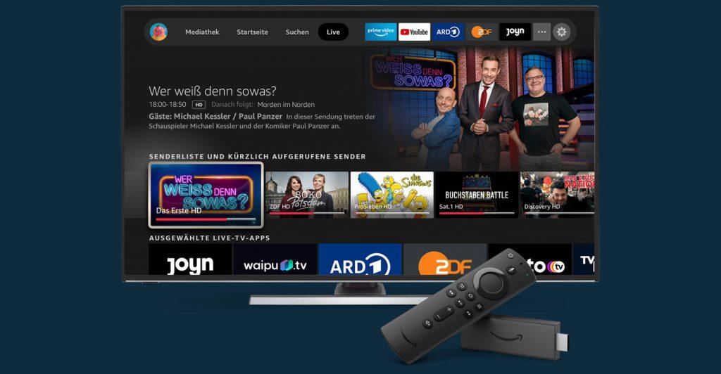 Fire TV Apps Sprachsteuerung