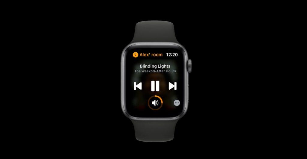 Apple Watch als Sonos-Fernbedienung