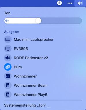 macOS: HomePod Mini als Stereopaar
