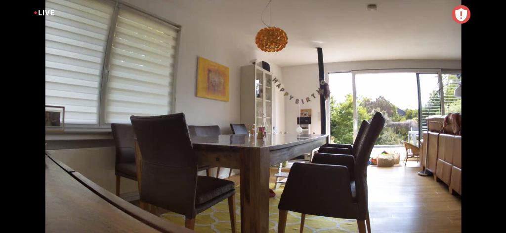 Arlo Essential Indoor Cam: Testbild bei Tag