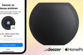 HomePod Mini Deezer
