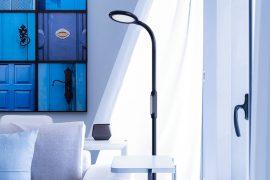 HomeKit kompatible Stehlampe
